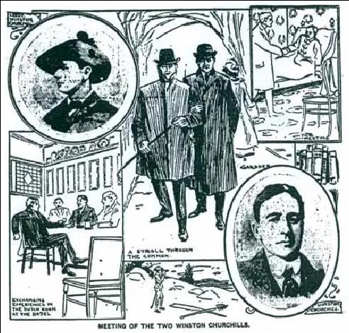 Meeting of Churchills