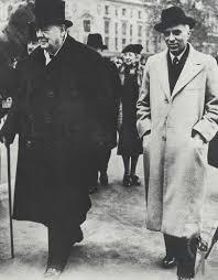 Churchill Nehru